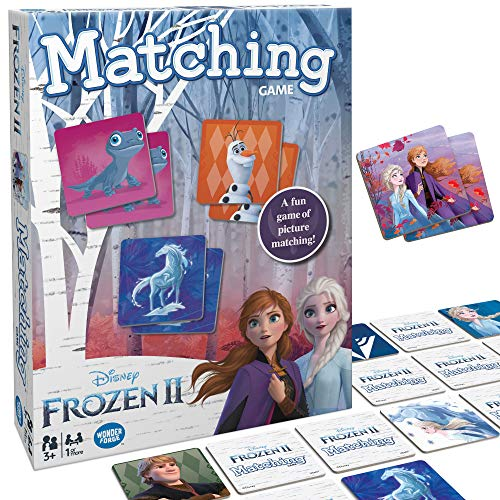 Wonder Forge Disney Frozen 2 Matching Game For Girls & Boys Age 3 to 5 - A Fun and Fast Frozen Memory Game
