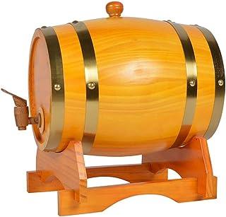 Oak Storing Barrel Doublure En Aluminium Intégrée 3L / 5L / 10L Distributeur De Baril De Vin En Bois De Chêne Vintage Avec...