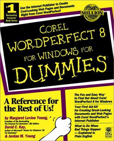 Corel WordPerfect 8 For Windows For Dummies