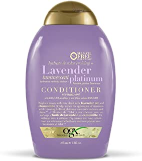 OGX Lavender Platinum Conditioner, 385 ml