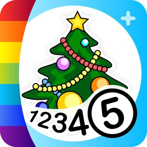 Pinta por Números - Navidad +