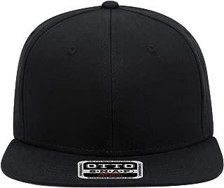 Product of Ottocap Cork Square Flat Visor, Five Panel Pro Style Mesh Back Trucker Snapback Hat -Red [Wholesale Price on Bulk]