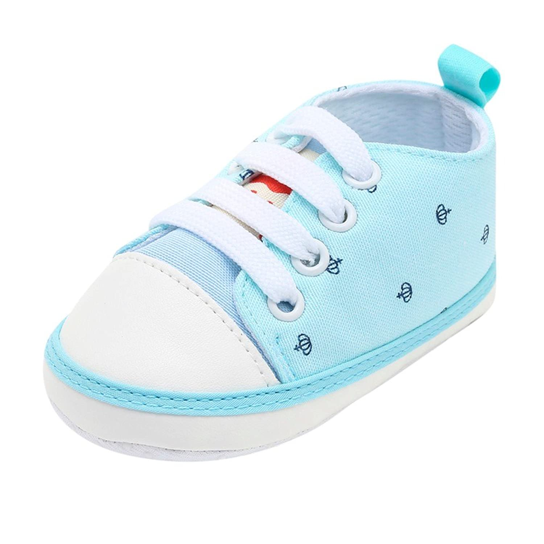 [Yochyan_子供靴] ベビーシューズ 可愛い 女の子 男の子 幼児シューズ 運動靴 スニーカー プリント レースアップ スポツー 柔らかい コットン 歩く練習 滑り止め カジュアル ファッション おしゃれ 日常着 11 12 13
