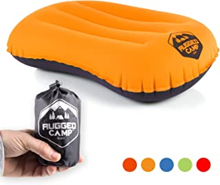 Rugged Camp Camping Pillow - Ultralight Inflatable Travel...