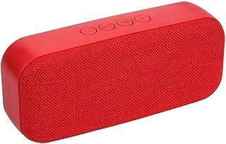 Datazone Wireless Bluetooth Portable Speaker, DZ-600, Red