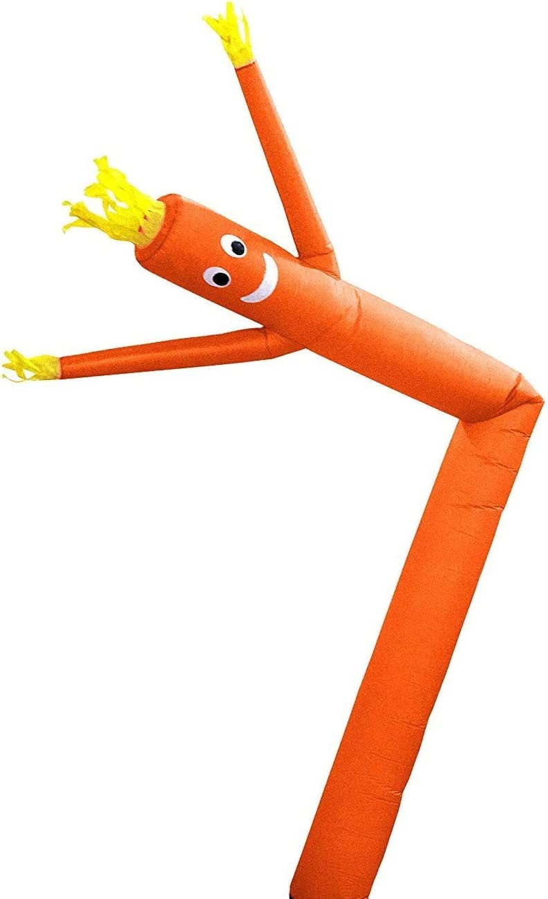 Green Blower Not Included Arm Flailing Advertising Sky Air Puppet Skyerz Wacky Waving Inflatable Tube Man 20 Feet