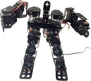 KESOTO 17-DOF ロボットキット ヒューマノイド ダンスロボット 二足歩行ロボット 金属 DIY組み立て