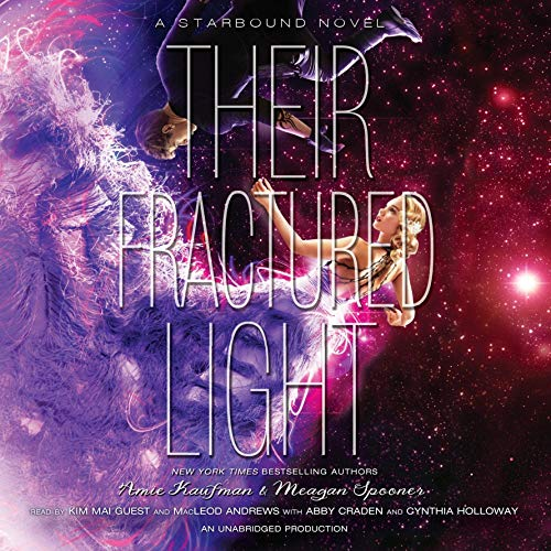 Their Fractured Light                   By:                                                                                                                                 Amie Kaufman,                                                                                        Meagan Spooner                               Narrated by:                                                                                                                                 Kim Mai Guest,                                                                                        MacLeod Andrews                      Length: 15 hrs and 5 mins     251 ratings     Overall 4.4