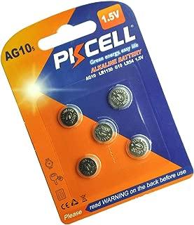 5 Pcs LR1130 LR54 AG10 189 389 1.5V Alkaline Battery for Watches