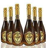 Lussory Vino Espumoso Dorado - Paquete de 6 x 750 ml - Total: 4500 ml