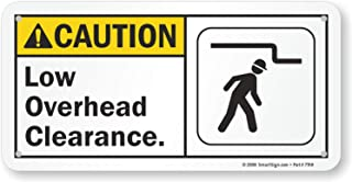 Best caution low overhead clearance signs Reviews