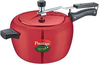 Prestige Apple Plus Aluminium Pressure Cooker, 5 Litres