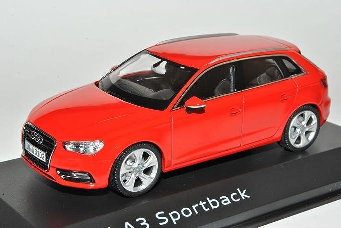 Schuco A U D I A3 8v Sportback Misano Rot 5 Türer Ab 2012 1 43 Modell Auto Mit Individiuellem Wunschkennzeichen Spielzeug