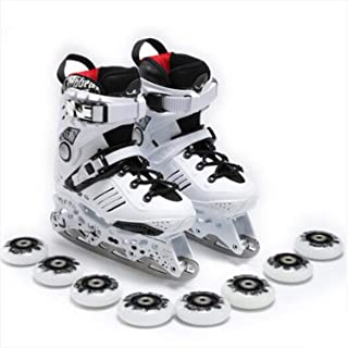 Multi-Function Ice Skates Roller Skates Men and Women Adult Shoes Figure Skating Knives for Beginners Skating Dual-Use
