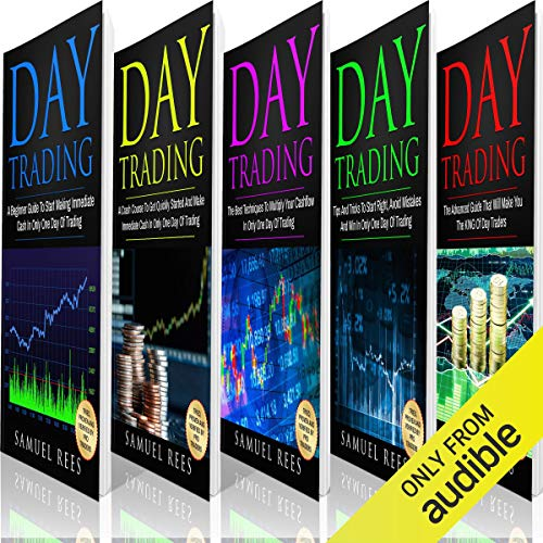 Day Trading: The Bible: 5 Books in 1 Titelbild