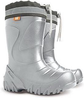 Demar Kids Boys Girls Wellies Wellington Boots Rainy Snow Ultra Light EVA Size 5-13