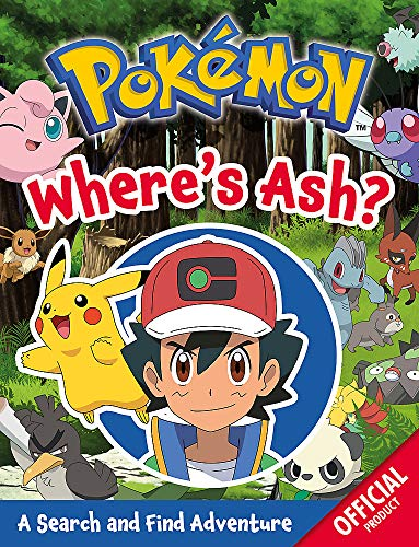 Pokémon: Where's Ash?: A Search and Find Adventure