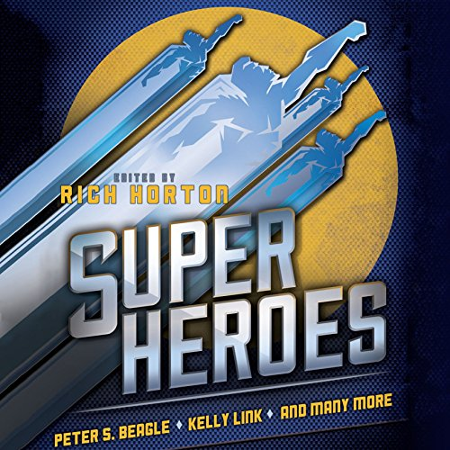 Superheroes audiobook cover art