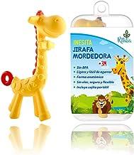 Inesita la jirafa mordedora. Juguete con caja regalo.