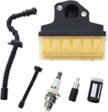 Carbhub Air Filter Spark Plug Fuel/Oil Line Filter for STIHL 021 023 025 MS210 MS230 MS250 Chainsaw