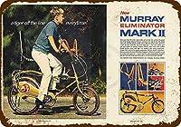 マレーエリミネーターマークIi自転車ティンサイン装飾ヴィンテージ壁金属プラークカフェバー映画ギフト結婚式誕生日警告のためのレトロな鉄の絵