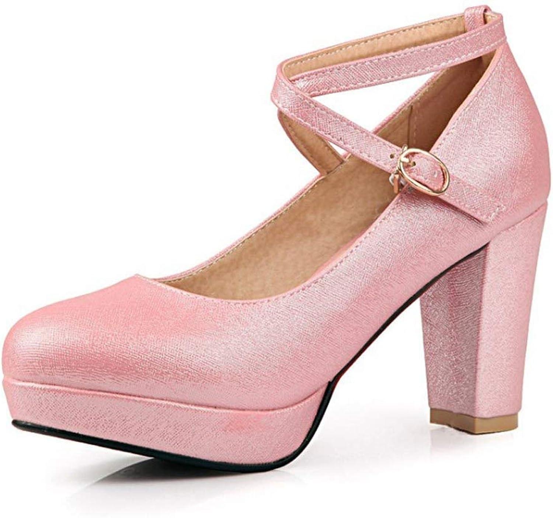 SUNNY Store Women's Formal Evening Dance Rhinestones Classic Low Heel Pumps shoes New