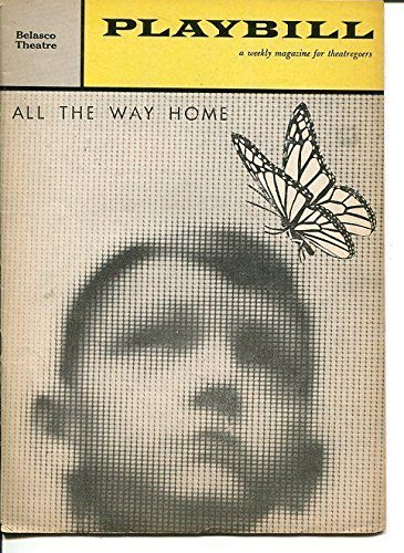Colleen Dewhurt Lillian Gish Arthur Hill All The Way Home May 1961 Playbill - Theater Playbills