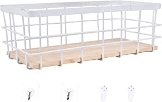 Boîte de décor de salle de bain Panier en fil métallique Organisateur Supports de stockage Bac de rangement des aliments P...