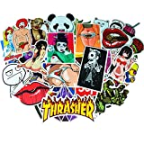 Sticker Bomb Pack Vinyl Wrap 100 Pcs,Funny Sexy Stickers Packs for Adults,Cars,Motorcycle,Bicycle,Skateboard,Luggage[Not Random]