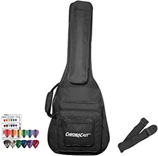 ChromaCast CC-A3/4PB-BAG-KIT-1 3/4 Size Acoustic Gig Bag with Pick Sampler & Strap