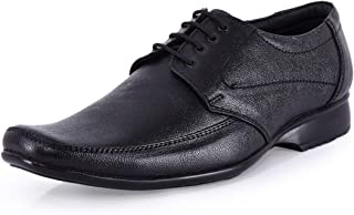 Action Shoes Black Leather Formal Shoes
