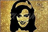 Katy Perry Glitter Effekt Art Pre unterzeichnet Foto Poster