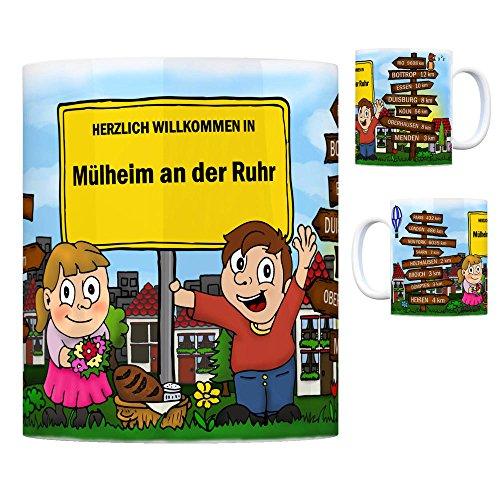 trendaffe - Herzlich Willkommen in Mülheim an der Ruhr Kaffeebecher