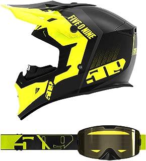 509 Tactical Helmet/Kingpin Goggle Combo - HiVis (XL)