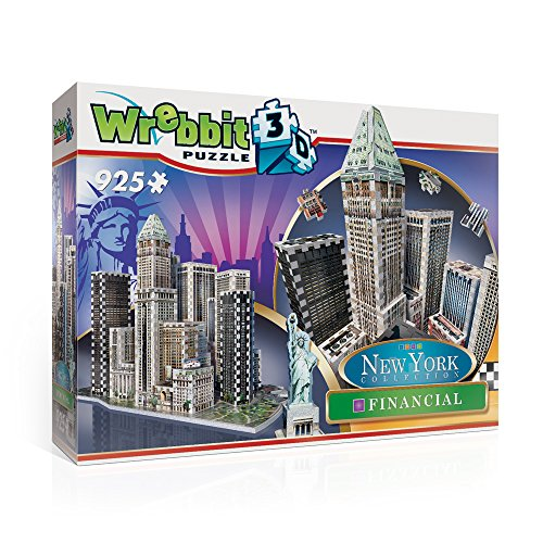 Wrebbit 3D 3D Puzzle Financial- New York Collection