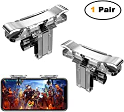 MIWORM Mobile Controller- Mobile Game Controller, Cellphone Game Trigger, Battle Royale Sensitive Shoot and Aim Gift for Kids (Mobile Game Controller B)