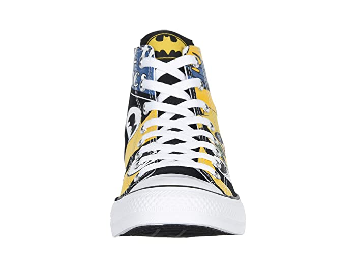 Converse Chuck Taylor All Star Hi Back White Lemon Chrome Batman