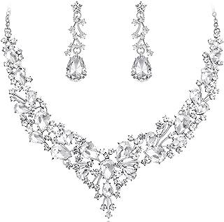 Best swarovski crystal bridal jewelry sets Reviews