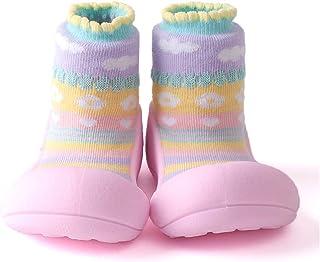 Attipas Attibebe Baby Walker Shoes, Pink, Medium