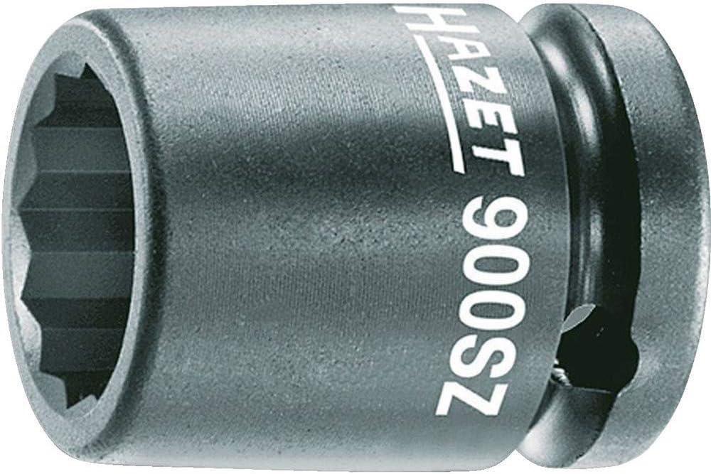 """13-27 mm Hazet 900SLG Kraft-Steckschlüssel-Einsatz Lang//Lang-Nuss 1//2/"""""""