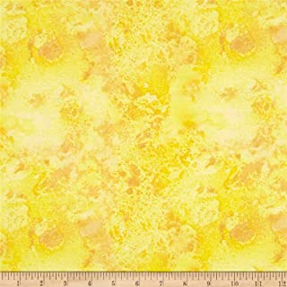 Wilmington Prints Essentials Cosmos Sky Yellow Fabric By The Yard
