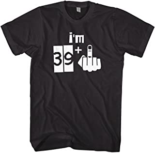 Mixtbrand Men's I'm 39 Plus 1 40th Birthday T-Shirt