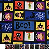 MAGAM-Stoffe Jack Baumwollstoff Popeline Halloween Piraten
