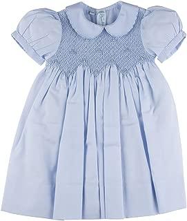 blue smocked dress toddler