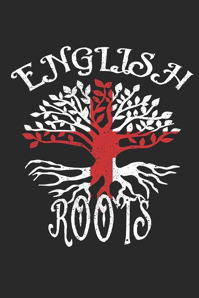 セメントメキシコ時間厳守English Roots Notebook Journal: 120 Blank Lined Pages Softcover Notes Journal, College Ruled Composition Notebook, 6x9 Tree with Flag of England Design Cover (Funny Gifts For a Friend)
