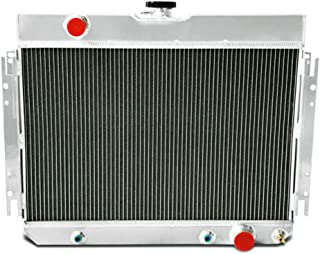 OzCoolingParts New 63-68 Chevy Series Radiator, 3 Row Core Full Aluminum Radiator for 1963-1968 64 65 66 67 Chevy Bel-Air/Impala/Chevelle/EL Camino/Biscayne/Cappice and Many GM Cars (3 Row)
