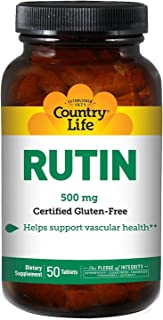Country Life - Rutin 500mg - 50 Tablets