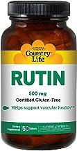 Country Life - Rutin 500mg - 50 Tablets