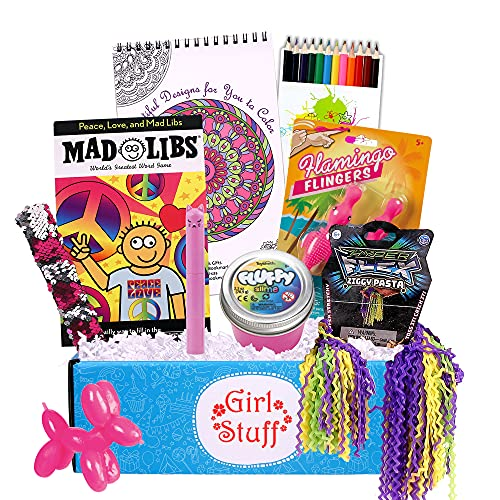 Beyond Bookmarks Girl Stuff - Girls and Tween's Summer Camp Care Package or Birthday Gift