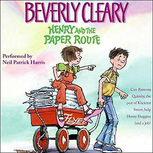 Henry and the Paper Route audiobook cover art